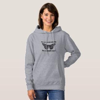 sarcastic moth hoodie