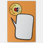 Sarcastic Smiley Face Grumpey Post-It Note
