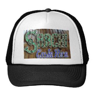Sarchi Costa Rica Wood Mesh Hat