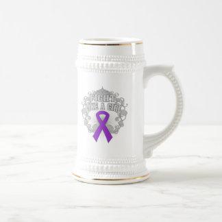 Sarcoidosis Fight Like A Girl Fleurish Coffee Mugs