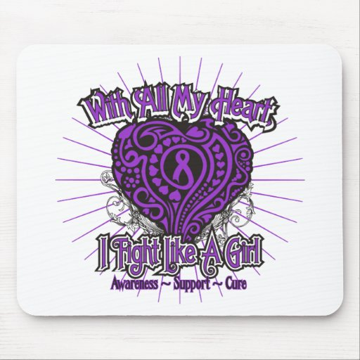 Sarcoidosis Heart I Fight Like A Girl Mouse Pads
