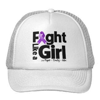 Sarcoidosis Ribbon Fight Like a Girl Cap
