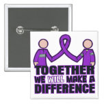 Sarcoidosis Together We Will Make A Difference.png Pinback Button