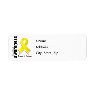 Sarcoma Awareness 5 Return Address Label