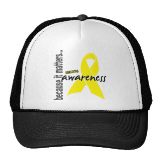 Sarcoma Awareness Mesh Hat
