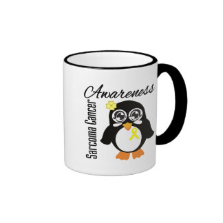 Sarcoma Cancer Awareness Penguin Coffee Mug