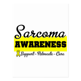 Sarcoma Cancer Awareness Post Cards