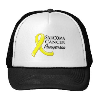 Sarcoma Cancer Awareness Ribbon Trucker Hat