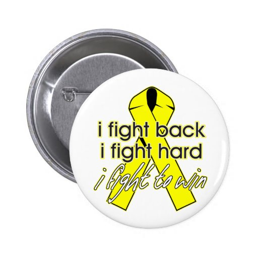 Sarcoma Cancer I Fight Back Buttons