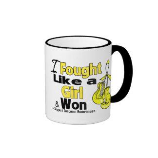 Sarcoma Cancer I Fought Like a Girl and Won Mugs