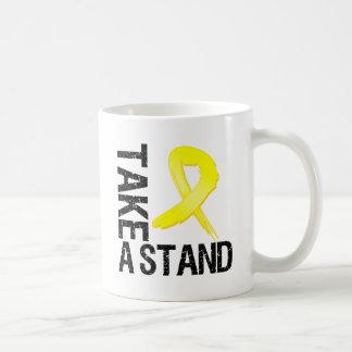 Sarcoma Cancer Take A Stand Classic White Coffee Mug