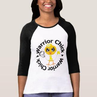 Sarcoma Cancer Warrior Chick T Shirts