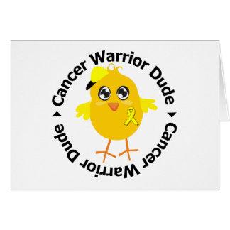 Sarcoma Cancer Warrior Dude Card