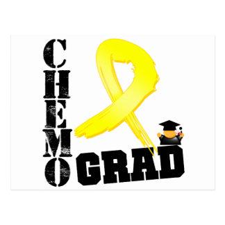 Sarcoma Chemo Grad Postcard