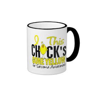 Sarcoma Chick Gone Yellow Mug