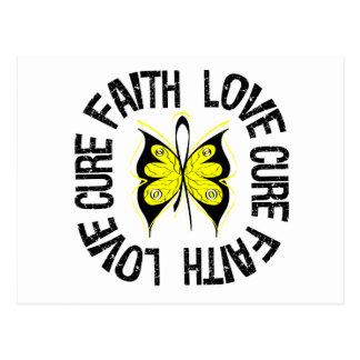 Sarcoma Faith Love Cure Postcard