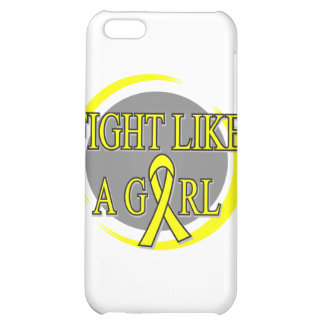 Sarcoma Fight Like A Girl Circular Case For iPhone 5C