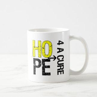 Sarcoma Hope For a Cure Classic White Coffee Mug