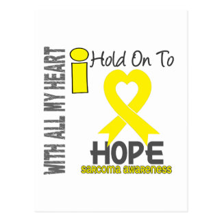 Sarcoma I Hold On To Hope Postcard