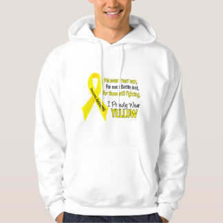 Sarcoma I Proudly Wear Yellow 1 Hoodie