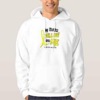 Sarcoma I WEAR YELLOW FOR ME 37 Hoodie