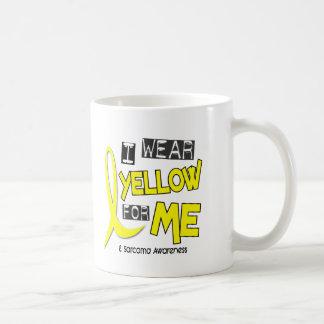 Sarcoma I WEAR YELLOW FOR ME 37 Basic White Mug