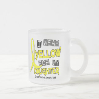 Sarcoma I WEAR YELLOW FOR MY DAUGHTER 37 Mugs