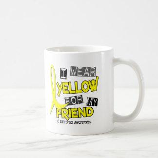 Sarcoma I WEAR YELLOW FOR MY FRIEND 37 Basic White Mug