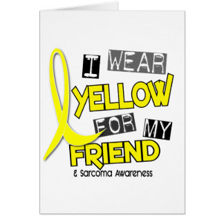 Sarcoma I WEAR YELLOW FOR MY FRIEND 37 Cards