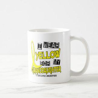Sarcoma I WEAR YELLOW FOR MY GRANDDAUGHTER 37 Basic White Mug