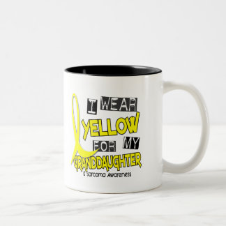 Sarcoma I WEAR YELLOW FOR MY GRANDDAUGHTER 37 Mug