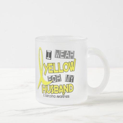 Sarcoma I WEAR YELLOW FOR MY HUSBAND 37 Coffee Mugs