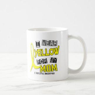 Sarcoma I WEAR YELLOW FOR MY MOM 37 Classic White Coffee Mug