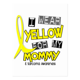 Sarcoma I WEAR YELLOW FOR MY MOMMY 37 Post Cards