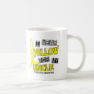 Sarcoma I WEAR YELLOW FOR MY UNCLE 37 Classic White Coffee Mug