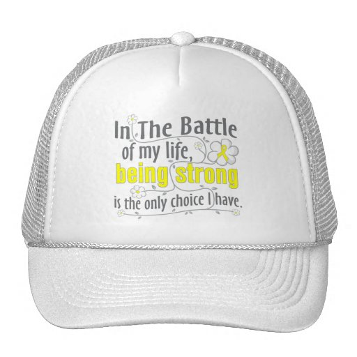 Sarcoma In The Battle Trucker Hats