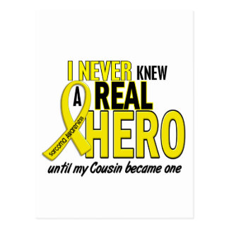 Sarcoma NEVER KNEW A HERO 2 COUSIN Post Card