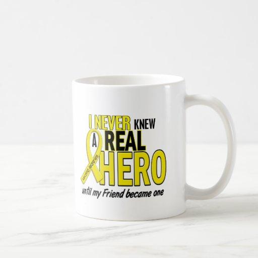 Sarcoma NEVER KNEW A HERO 2 Friend Coffee Mugs