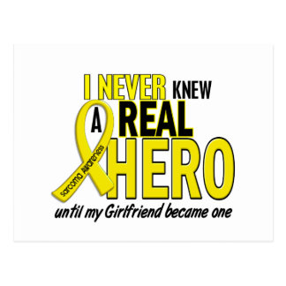 Sarcoma NEVER KNEW A HERO 2 Girlfriend Postcard