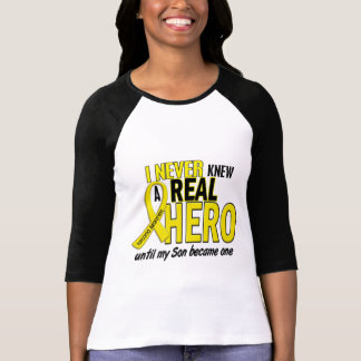 Sarcoma NEVER KNEW A HERO 2 Son T-Shirt