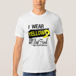 Sarcoma Ribbon For My Best Friend Tshirt