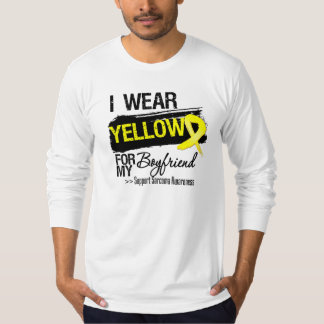 Sarcoma Ribbon For My Boyfriend Tee Shirts