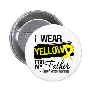 Sarcoma Ribbon For My Father 6 Cm Round Badge