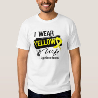 Sarcoma Ribbon For My Wife T-shirt