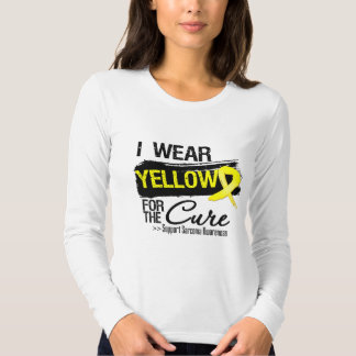 Sarcoma Ribbon For The Cure T-shirts