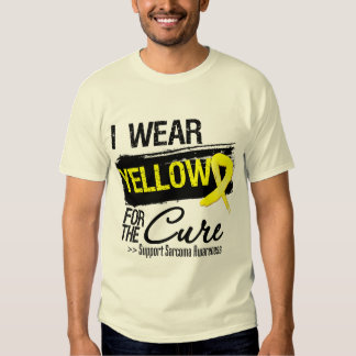 Sarcoma Ribbon For The Cure Tee Shirt