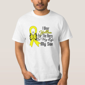 Sarcoma Ribbon My Hero My Son Tee Shirts