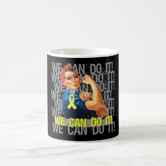 Sarcoma Rosie WE CAN DO IT Coffee Mugs