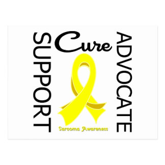 Sarcoma Support Advocate Cure Postcard