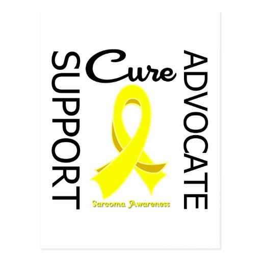 Sarcoma Support Advocate Cure Post Cards
